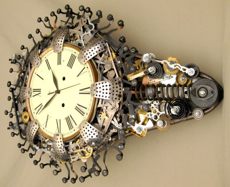Gallery For U003e Steampunk Wall Clock Part 67