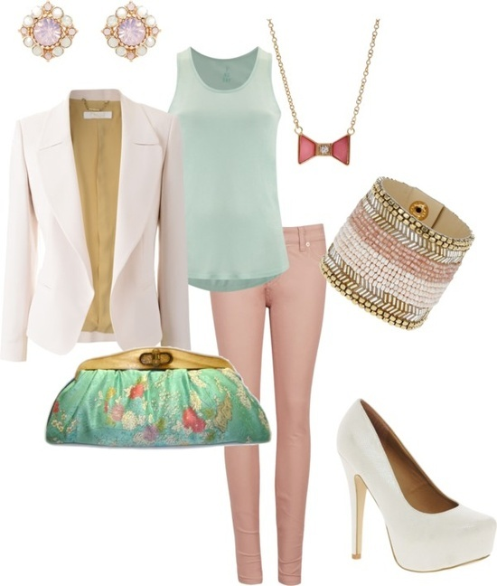 pastel outfit for easter