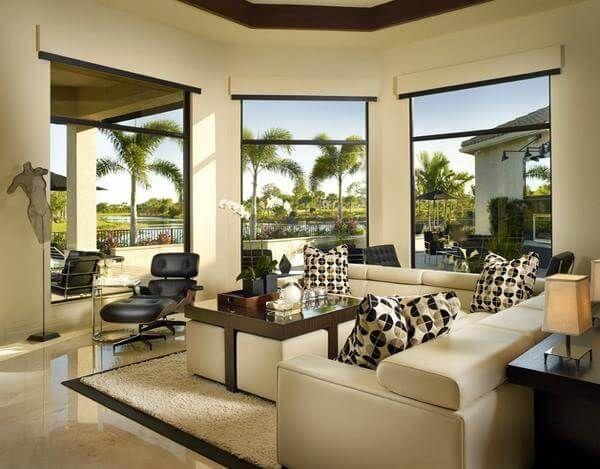 3751 best Dream Home images on Pinterest Living room, Living - wohnzimmer schwarz weis beige