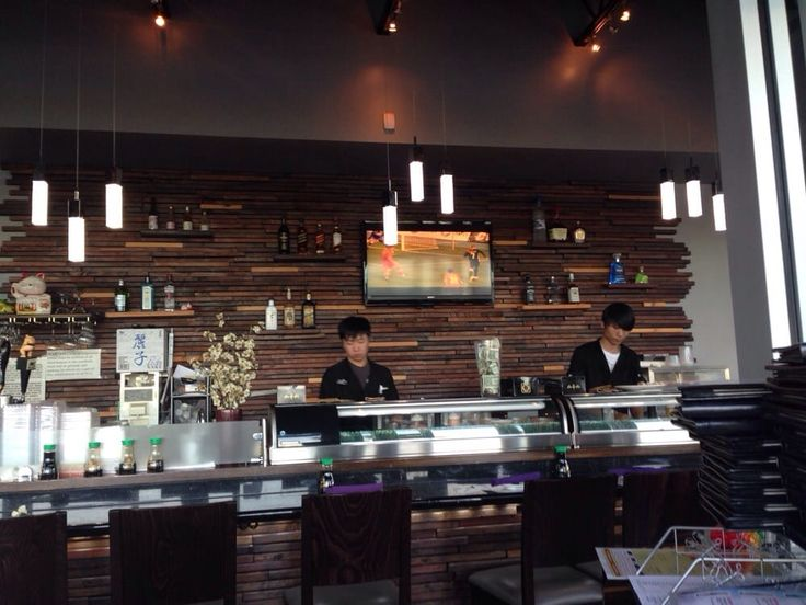 Image result for sushi bar design