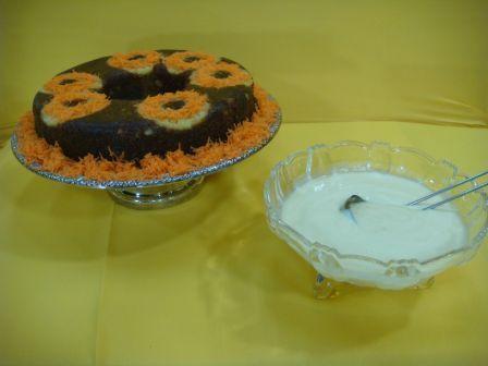 Torta Volcada de zanahoria y piña