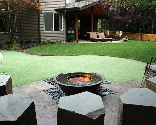 Fire Pits Design, Pictures, Remodel, Decor and Ideas - page 7: Fire Pits, Backyard Ideas, Water Features, Fire Bowls, Traditional Landscape, Fire Pit Design, Backyard Fire Pit, Firepit, Landscapes