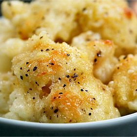 Cauliflower Gratin ***delicious if you like cooked cauliflower***