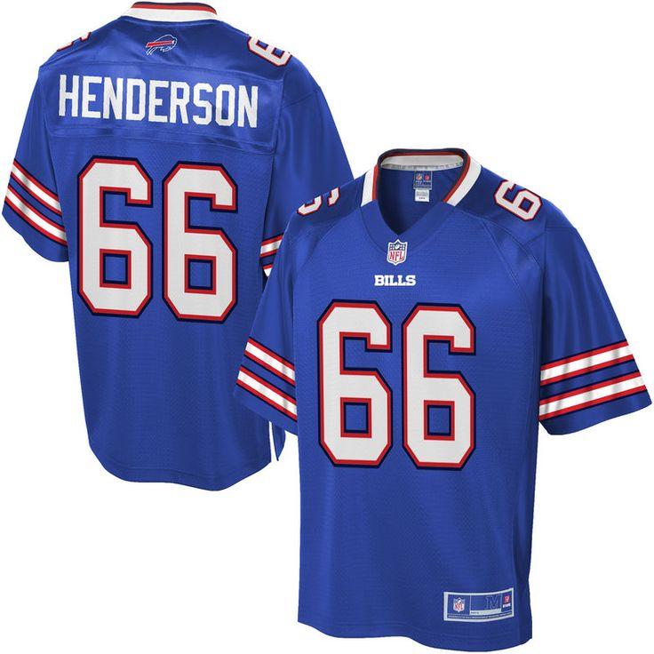 NFL Pro Line Mens Buffalo Bills Seantrel Henderson Team Color Jersey