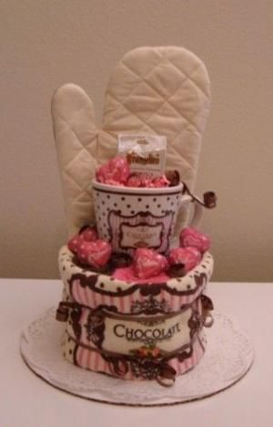 towel cake by janette                                                                                                                                                      More