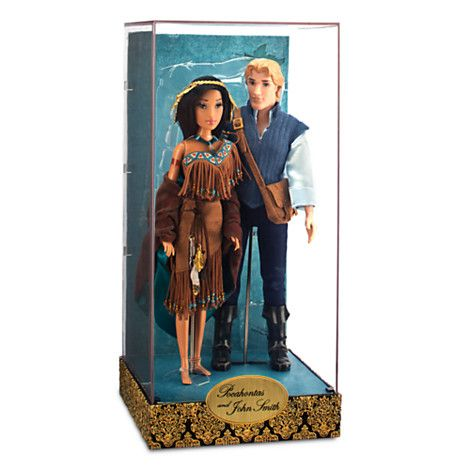 Pocahontas and John Smith Doll Set - Disney Fairytale Designer Collection