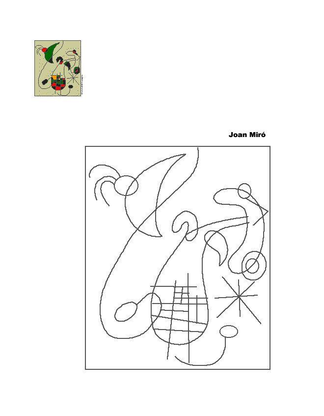 Mejores 107 imágenes de ARTS- Miró en Pinterest | Artes visuales ...