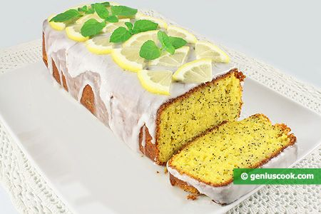 The Recipe for Lemon and Poppy Cake | Baked Goods | Genius cook - Healthy Nutrition, Tasty Food, Simple Recipes