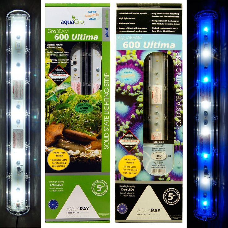 * lighting learning led aquaria guidelines * AquaRay 600 Ultima Reef White, Aquarium LED Light Systems