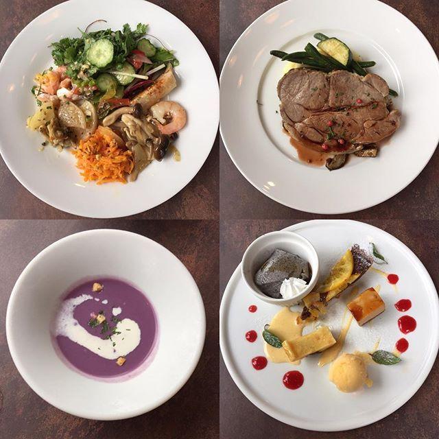 ・ ✨おしゃれカフェでランチ✨ ・ ・ 前菜ビュッフェと選べるメイン♪ スープ デザート ドリンクまでついてるコース✨ ・ シェフのお料理が 美味しくて大好きなカフェ😊 見た目も味も 家でマネして作ってみようと思うお料理があったり いつもすごく参考になります💕 ・ #カフェ#おしゃれカフェ#ランチ#料理#肉#前菜#デザート#デザートプレート#立川 #美容室 #soare
