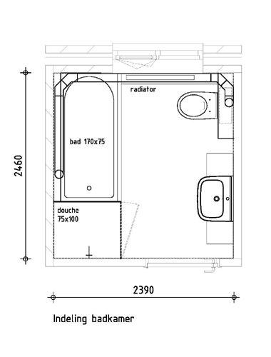 Afbeeldingsresultaat voor badkamer indeling maken   Badkamer ...