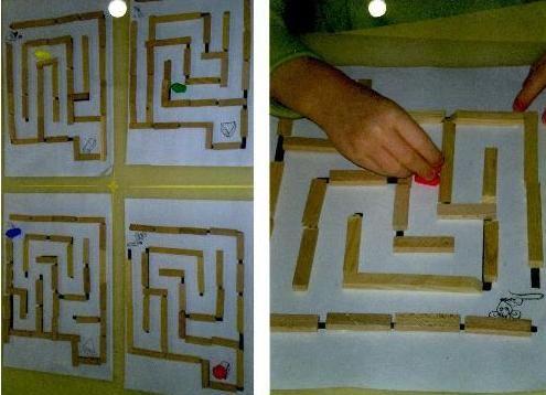 Labyrinthes, plein d'idées ...