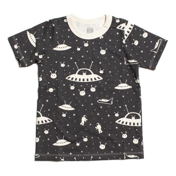 Short-Sleeve Tee - Outer Space Charcoal
