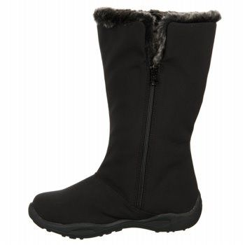 Propet Women's Madison Tall Zip Narrow/Medium/Wide Winter Boots (Black) - 10.0 2E