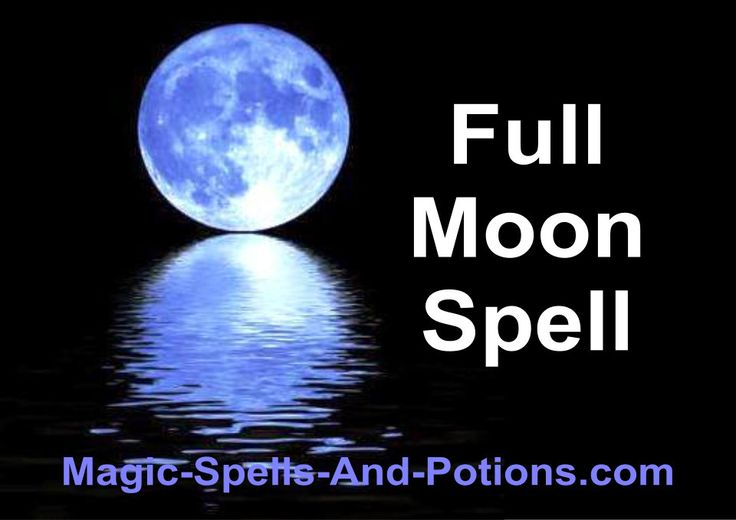 Full Moon Candle Spell