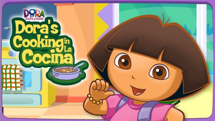 Dora Cooking In La Cocina Game EGGS WITH SWEET PLANTAINS - Cooking Games...