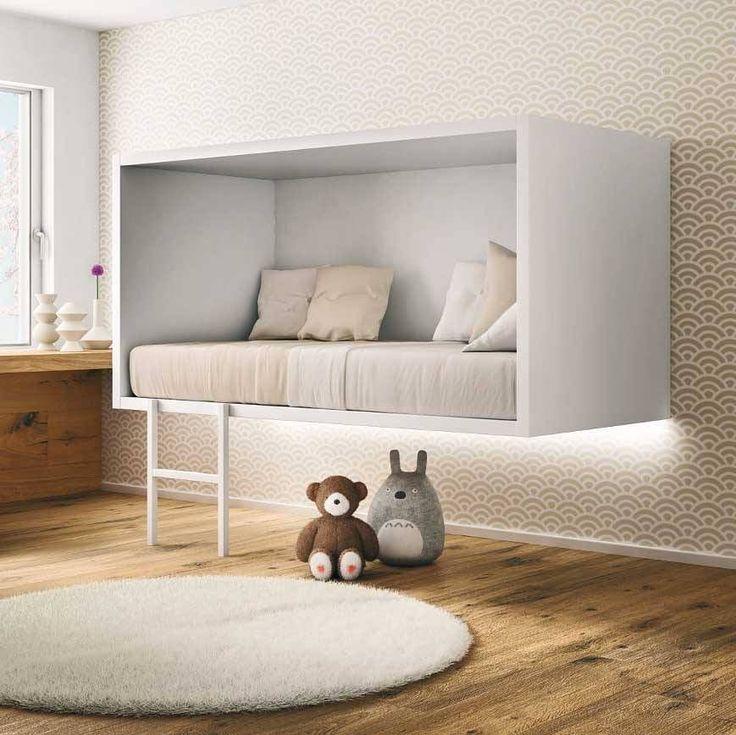 Conceito bacana para o quarto dos pequenos! (Cuidado com a sustentação) #partiu projeto  http://ift.tt/1oztIs0 Pinterest:  http://ift.tt/1Yn40ab |Imagem não autoral|