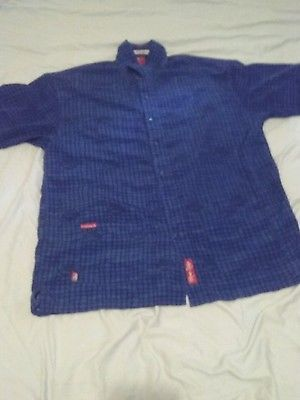Ekco Unltd Great Wear Dark Blue and Black Shirt Button Down