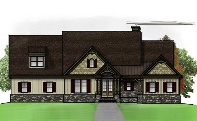 226 best nice house plans images on pinterest for Mountain house plans rear view