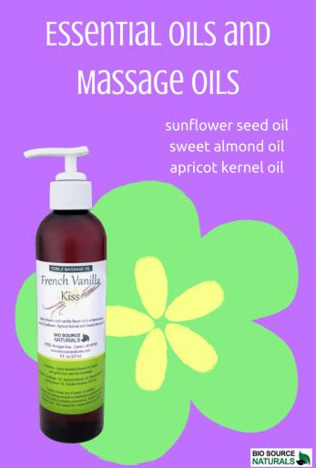 Massage oils that are made from  natural plant and essential oils are less greasy and absorb into the skin easily.  #aromatherapy