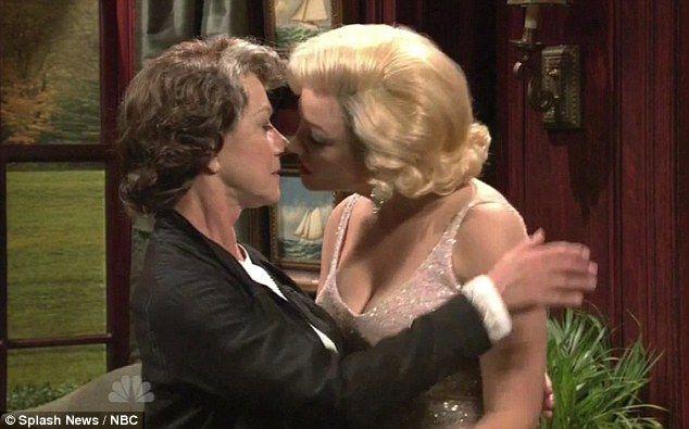 Pole Dancing Groping And A Lesbian Kiss Dame Helen Mirren Is The