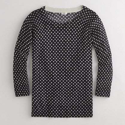 Polka dots: Charley Sweaters, Navy Polkadot, Color, Polkadot Sweaters, Polka Dots Jcrew, J Crew Factories, Polkadot Jcrew, Factories Charley, Polka Dots Sweaters