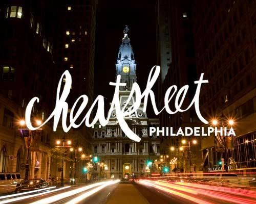 Everything you need to know about where to sleep, eat, drink and play in Philadelphia. (Graphic: Ryan McCullah)