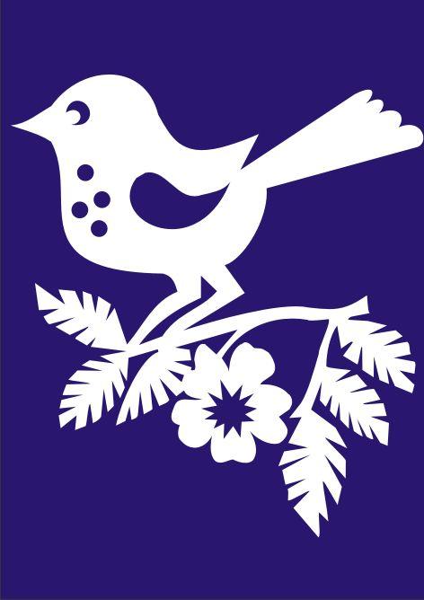 ptacek - vystrihovanka