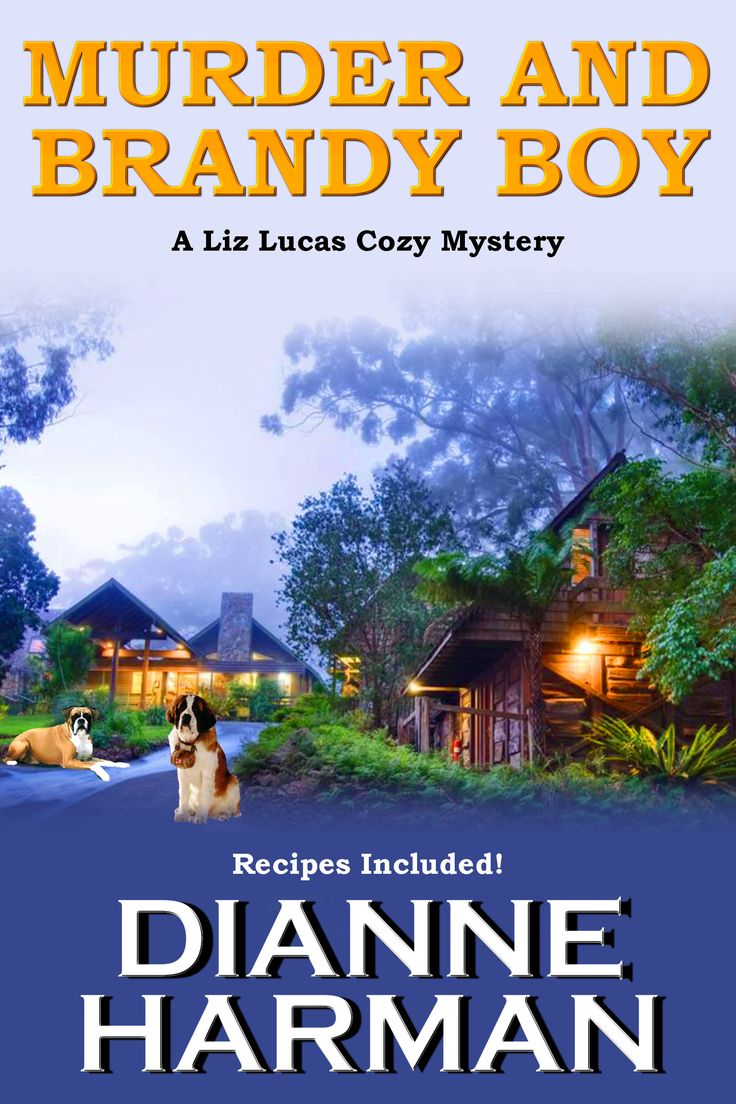 This is the second book in the Liz Lucas Cozy Mystery Series. Liz and her trusty dog Winston search for who killed her teenage chef intern on the eve of his graduation from high school. And you're going to love Brandy Boy!