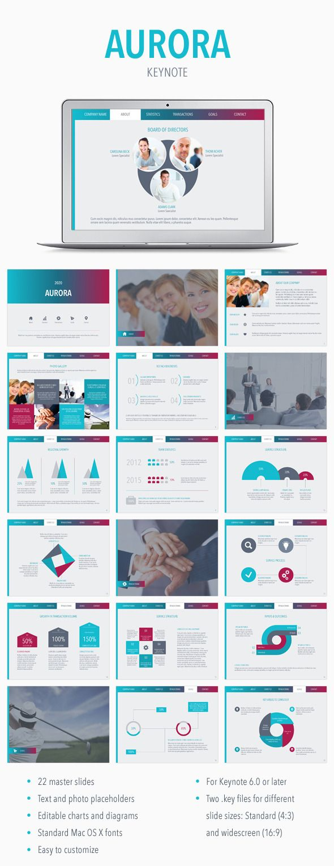 Aurora Keynote Template #slides #design Download: http://graphicriver.net/item/aurora-keynote-template/11815844?ref=ksioks
