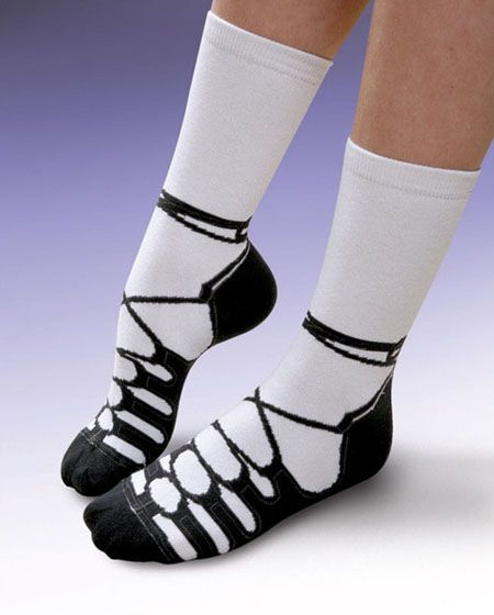 Irish Dance Socks - oh my gosh.  I know what I'm asking Santa for!!!!