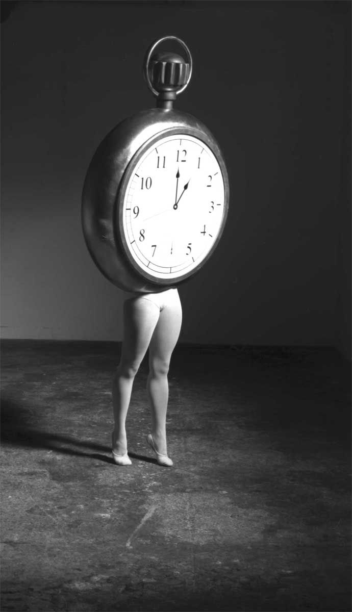 """Laurie Simmons """"Walking Pocket Watch/ The Music of Regret,"""" 2006"""