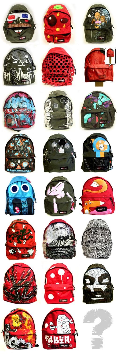 EASTPACK TAG MY BAG