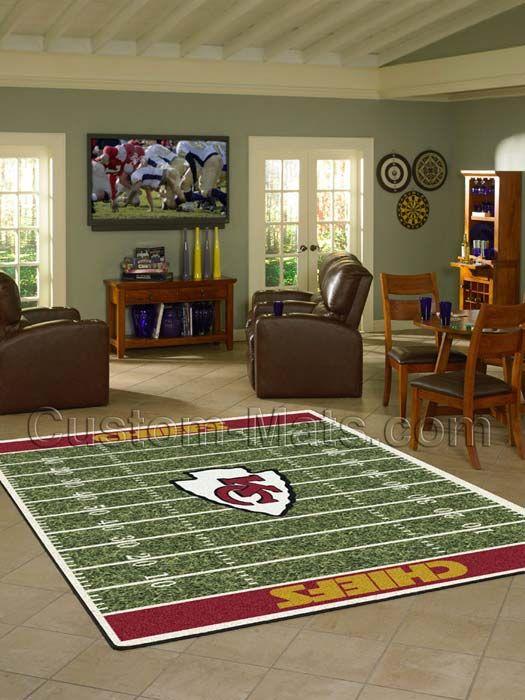 Custom-Mats by Gallant | Custom Mats - Kansas City - Kansas City Chiefs NFL Home Field Rug -