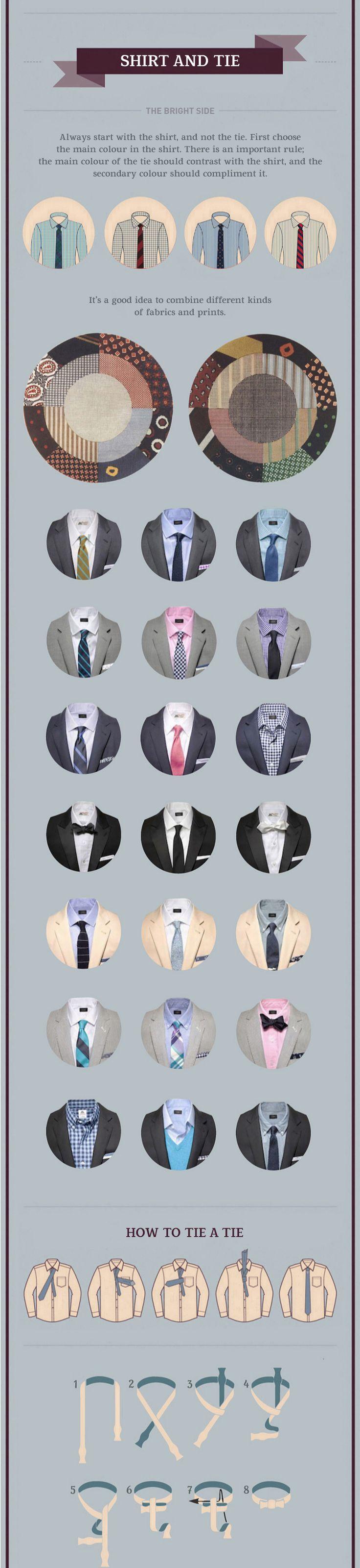 Wie man einen Anzug trägt: Hemd und Krawatte  #anzug #einen #krawatte #tragt – Mannermode 2019