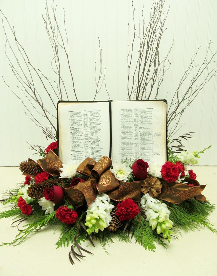 arrangement with bible