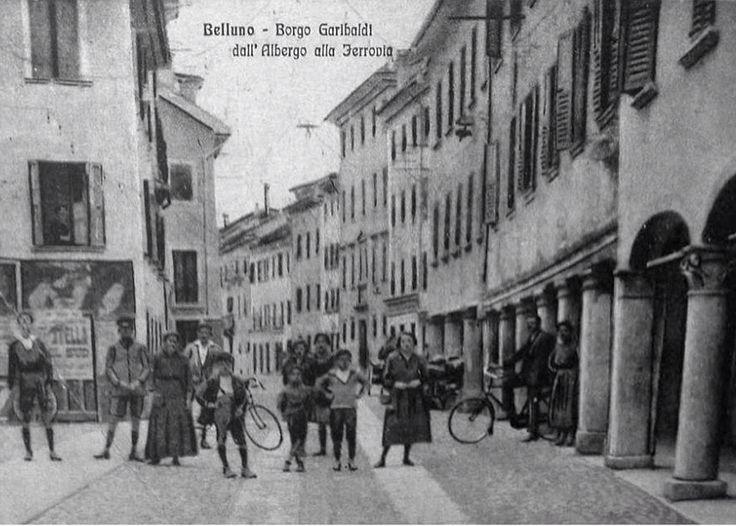 Borgo Garibaldi Belluno Dolomiti Veneto Italia