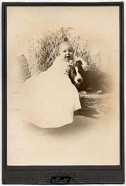Vintage Baby and Pit Bull #pitbulllove #pitbulls #pitbullvintage