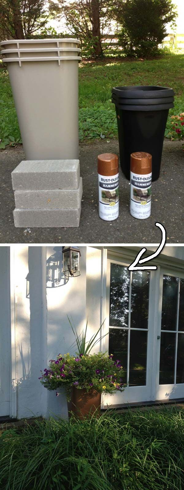 11. Change an old chair's color by fabric spray painting. Get Tutorial here —-> apinterestaddict.com 12. Cool idea of using a spray paint on existing door knobs. Get Tutorial here —-> thriftydecorchick.com 13. Cover your refrigerator with these classic painted magnetic letters. Get Tutorial here —-> inspiredbycharm.com 14. Give those glass mason jars a metallic look. […]