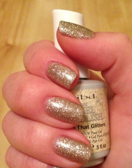Гелевый лак IBD JustGel Polish All That Glitters
