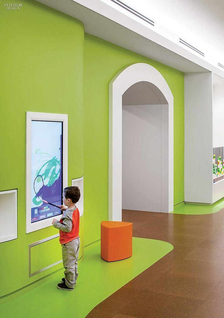 Big Ideas HDR Converts Underground Storage Into An Unusual Playground Medical DesignHealthcare DesignIndoor PlaygroundInterior Design MagazineSchool