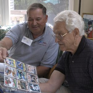 Our Comfort Keepers can help with Alzheimer's Disease