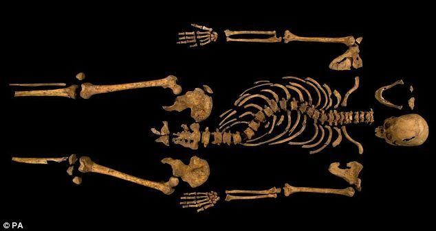 It IS Richard III: Scientists reveal DNA results confirm 15th century king's body has been found under a car park in Leicester