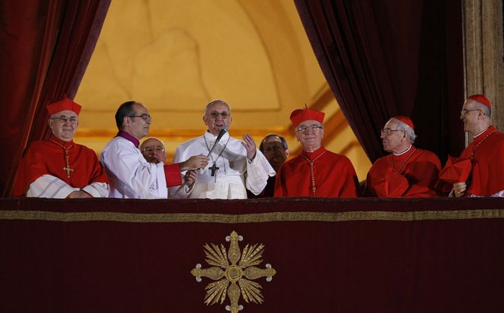 Cardinals elect Pope Francis, Argentinean Jesuit Jorge Mario Bergoglio http://ncronline.org/news/vatican/cardinals-elect-pope-francis-argentinean-jesuit-jorge-mario-bergoglio