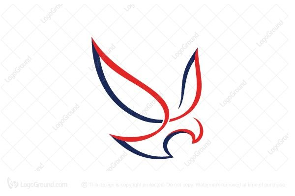 Logo for sale: Stylish Eagle Logo. Simple smooth calligraphy stylish eagle. The symbol itself will looks nice as social media avatar and website or mobile icon. eagle falcon hawk logo logos Finance company Financial investment Credit union eCommerce consultant clothing consultation Construction Accounting Financial young modern simple stability product business brand design graphic unique recognized professional usa american us united states of america buy purchase