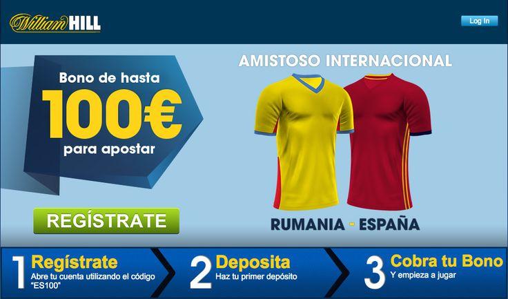 Rumanía vs España esta noche desde Transilvania http://ads.williamhill.es/redirect.aspx?pid=30280538&bid=1487412497&lpid=1482947605