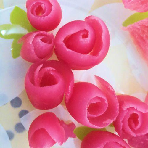 Rose di sapone fai da te facili - EdenStyleMagazine.it - Cosmetici fai da te e creatività