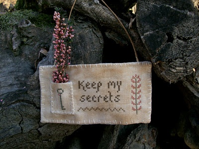 keep my secrets ~ could attach an old skeleton key!