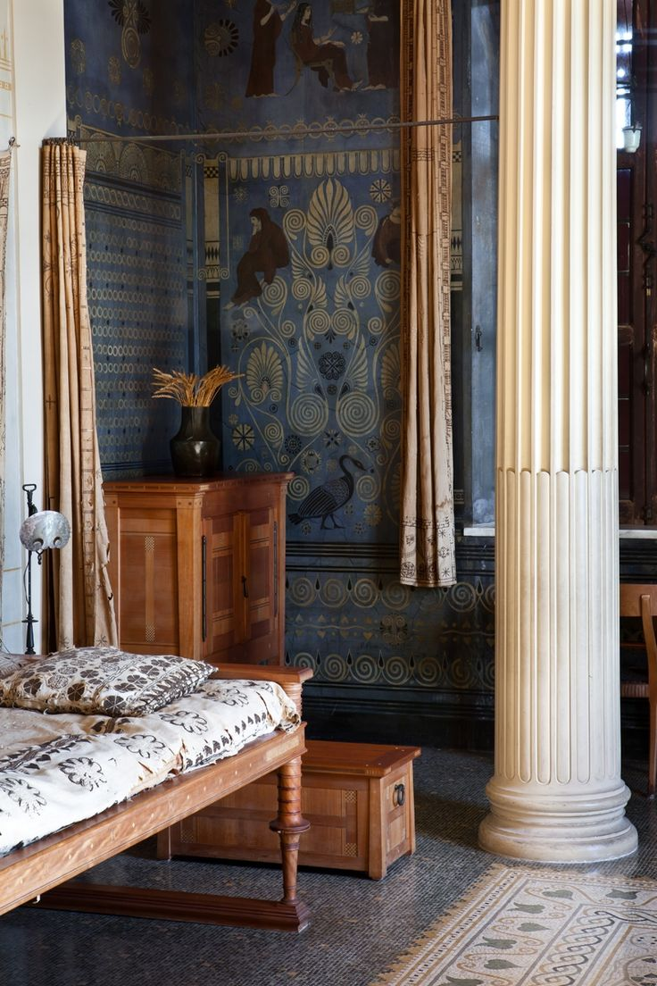 Ornithes Villa Grecque K 233 Rylos Palais Antique De La