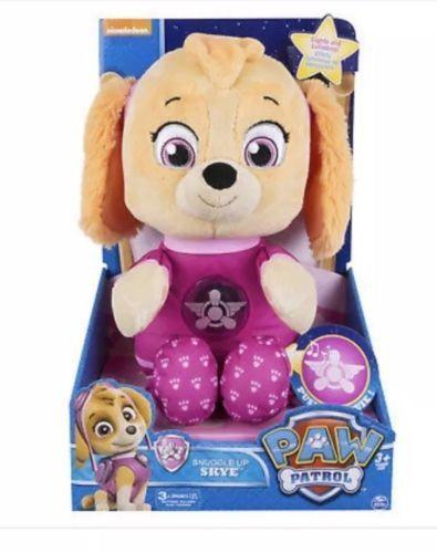 215777d0536 Snuggle Up Pup SKYE Paw Patrol Light Up MUSICAL Bedtime Cuddle Toy PLUSH  Dog NEW  spinmaster  ebay  pawpatrol  hottoy  babytoys  nickjr  skye